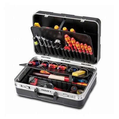 Parat Werkzeugkoffer Elektriker-Koffer mit Einsteckfächern 485.020-171