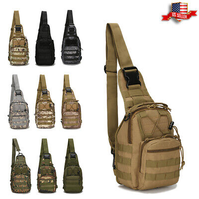 Tactical Chest Bag Backpack Men
