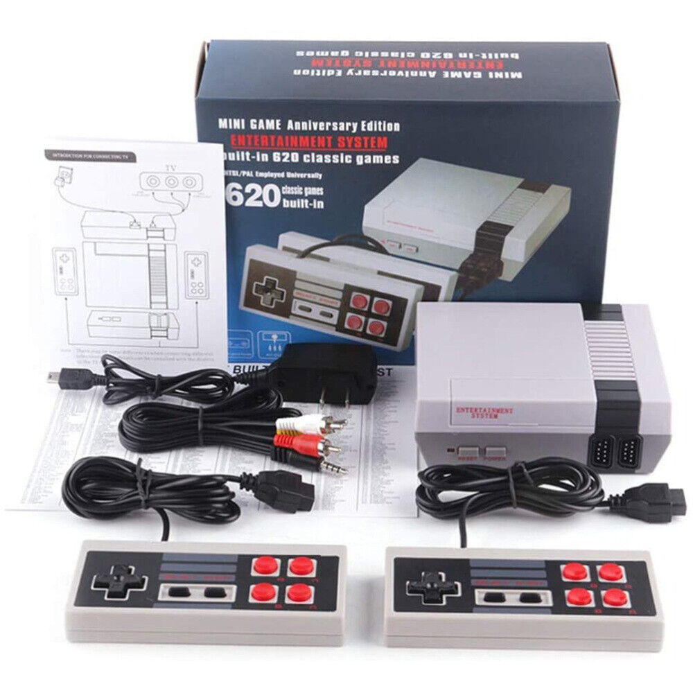 Mini NES Game Console 620 Built in Classic Nintendo Games An