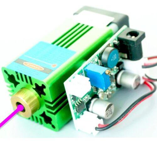 Industrial 405nm 0.8W 800mW Blue/Violet Laser Diode Dot Module 12V 3D Print