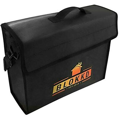 Fireproof Document Bags - Safe Lock Box Waterproof Storage Safety For Files 13