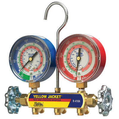 Yellow Jacket 42021 Mechanical Manifold Gauge Set2-valve