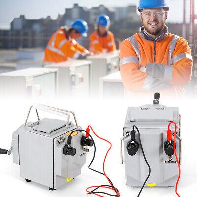 Plastic Metal Shell 1000v Megger Meter Insulation Tester Resistance Meter 1000v
