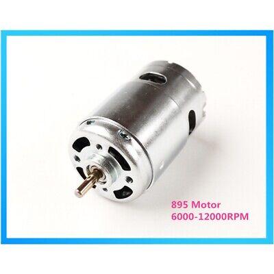 Dc 12v-24v 895 Motor High Speed 6000-12000rpm Motor Large Torque Gear Motor Gw