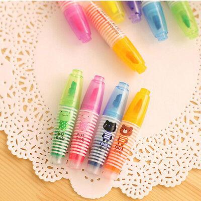 Set Aroma Cute Mini School Office 6pcsset Fluorescent Marker Pen Highlighter