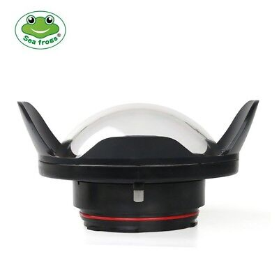 Seafrogs 40m Fisheye Wide Angle Lens Dome Port for Housing 5D4 D750 D800 D810