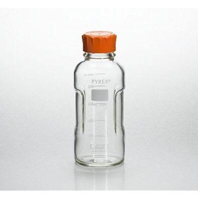 Pyrex Slimline Media Bottle Easy Pour Corning 250ML Glass (Case of 4)