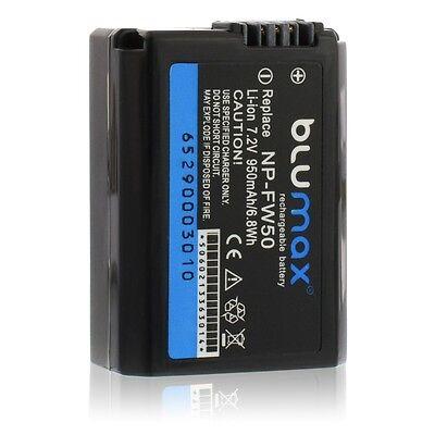 Batterie Lithium Blumax NP-FW50 Sony NEX3/5/6/7/C3 Alpha 3000/5000/7/7R/A7 A7R