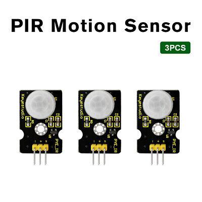 3pcs Hc-sr501 Infrared Pir Motion Sensor Detector Module For Arduino Project