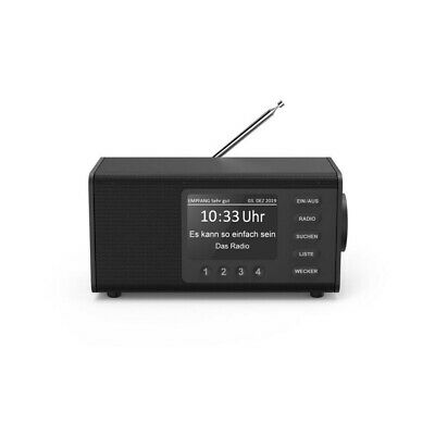 Hama Radio Digital DR1000DE Fm Lenguado + 4 Pulgada Pantalla Despertador 4