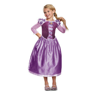 Girls Rapunzel Day Dress Disney Princess - Disney Girls Costumes