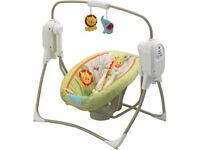 cradle swing space saver fisherprice