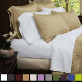 4-piece Set: Original Best Bamboo Rayon from Bamboo Egyptian Comfort Bed Sheets