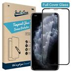 Just in Case Full Cover Tempered Glass Apple iPhone 11 Zwart