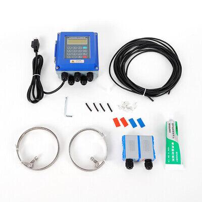 Ultrasonic Flow Meter Tuf-2000btm-1 Dn32-6000mm Fixed Clamp On Flowmeter Us Top