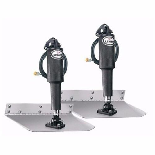 """Lenco Standard Mount Trim Tab Kit without Switch 9""""x18"""" For 22'-30' 15002-101 MD"""