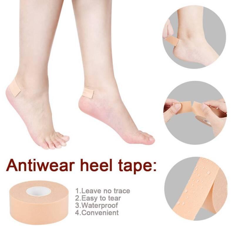 1 Roll Shoes Sticker Pads Waterproof Heel Back Stickers Slip Resistant Foot Care