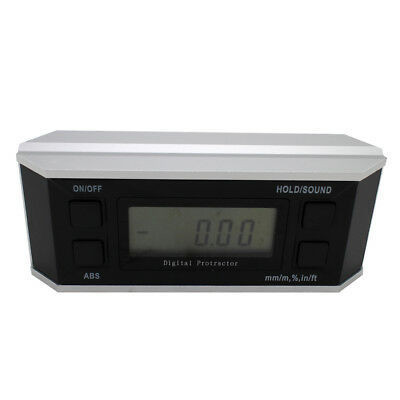 Digital Angle Gauge Bevel Box Protractor Angle Level Electronic Inclinometer