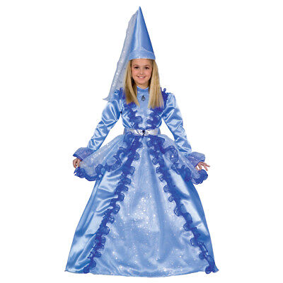 Dress up America Women Girls Beautiful Blue Fairy Costume ()