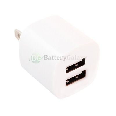 Fast Dual 2 Port Rapid Wall Charger for Apple iPad 1 2 3 4 5 Air Mini Pro
