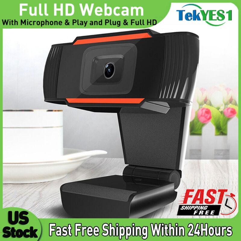 HD 720P Webcam Auto Focusing Web Camera For PC Laptop Desktop With Microphone