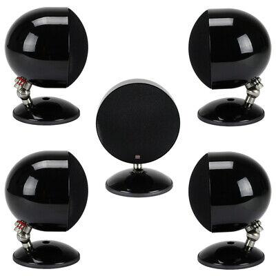 Morel SoundSpot SP-1 5-Piece Home Theater Satellite Speakers - Black SP1 NEW