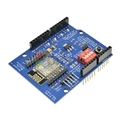 Esp-12e Esp8266 Uart Wifi Wireless Shield For Arduino Uno R3 Mega
