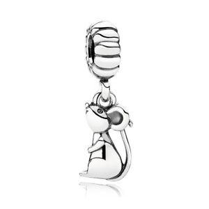 Authentic Pandora Charm Sterling Silver 791104 Chinese Zodiac Rat Pendant Charm