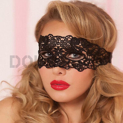 1PC Black Women Sexy Lace Eye Mask Party Masks For Masquerade Halloween Costumes - Halloween Costumes For Black Women