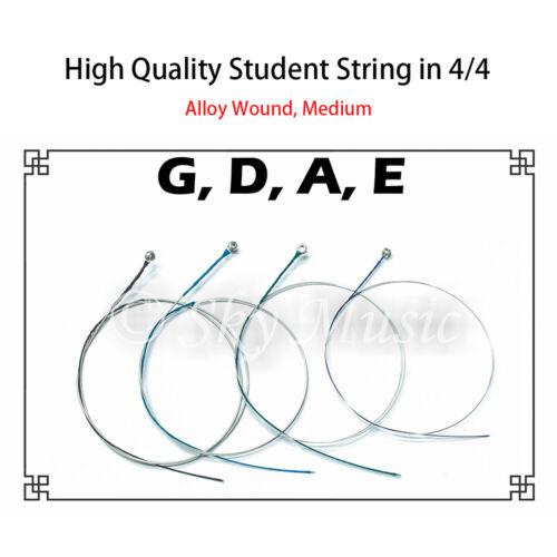 Student Violin Alloy Strings (Set) in 4/4