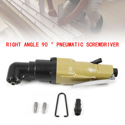 Pneumatic Right Angle Screwdriver Kp-810l Model Pneumatic Screwdriver 14 Inch