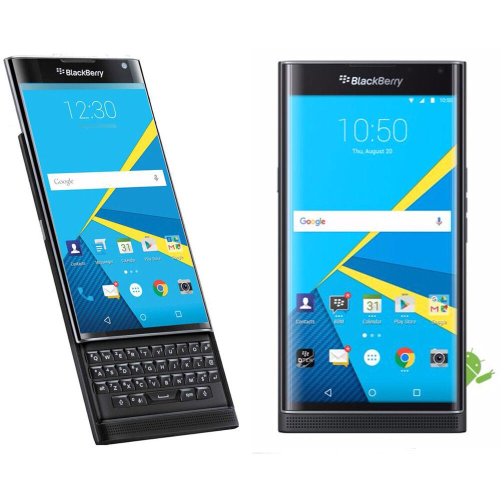 BlackBerry Priv  32GB  Black Unlocked Smartphone Slide QWERTY Keyboard  NEW