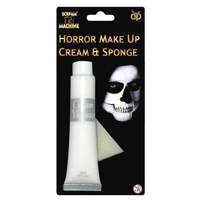 Blanco Halloween Maquillaje Pintura Crema Corporal Esqueleto Vampiro](Pinturas Halloween)