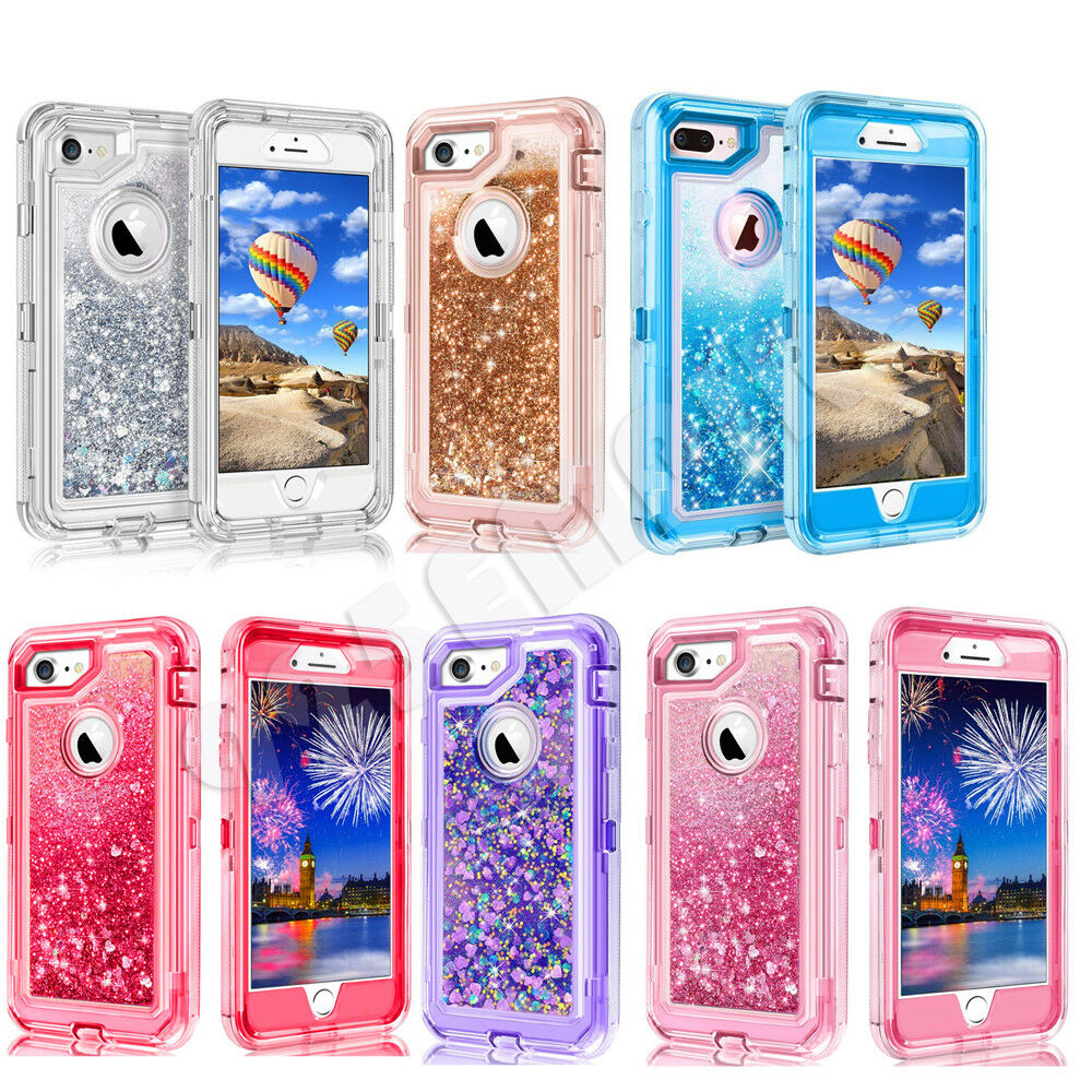 Glitter Liquid Case Cover For Apple iPhone 6/7/8 Plus/XR/XS MAX