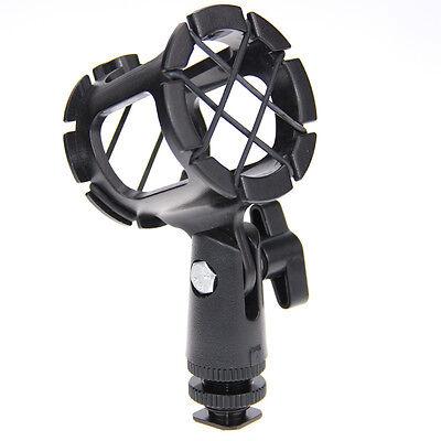 CAMVATE Universal Microphone Shock Mount Holder Stand Mic Hot Shoe for Shotguns ()