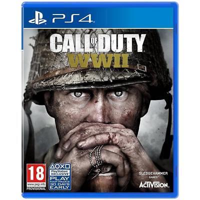 VIDEOGIOCO CALL OF DUTY WORLD WAR II PS4 ITALIANO GIOCO PLAYSTATION 4 COD WW2