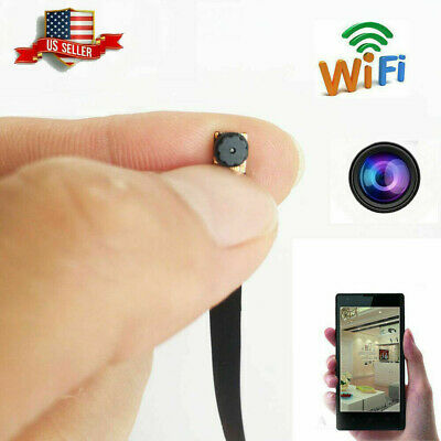 1080HD Mini Wireless WIF Spy Camera Hidden DIY Module Home Security Micro Cam DV
