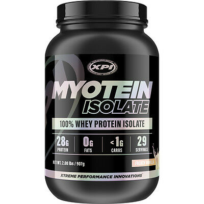 Myotein Isolate Protein Powder 2LBS (French Vanilla) - Best Whey Protein