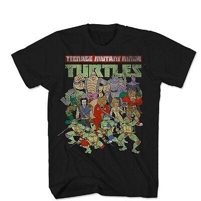 Teenage Mutant Ninja Turtles Whole Crew Here Licensed Adult T - Adult Ninja Turtles
