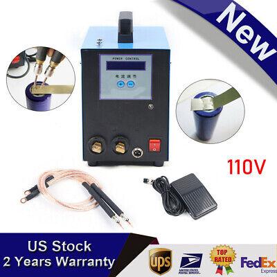 Sale 5kva High-power Handheld Spot Welder W Battery Welding Machine 110v