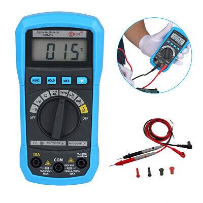Lcd Screen Digital Multimeter Ac Dc Voltmeter Ammeter Ohmmeter Volt Tester Meter