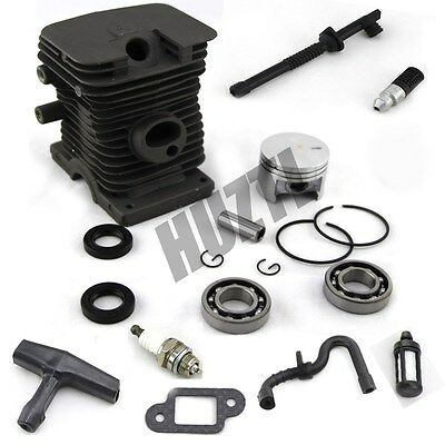 37MM Cylinder Piston With Fuel line Gasket Oil Seal For STIHL Chainsaw 017 MS170 on Rummage