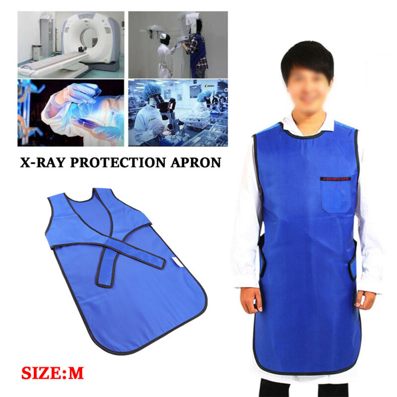 M 0.35 mm Pb X-Ray Protection Apron Radiation Protective Apron Lead Rubber Vest
