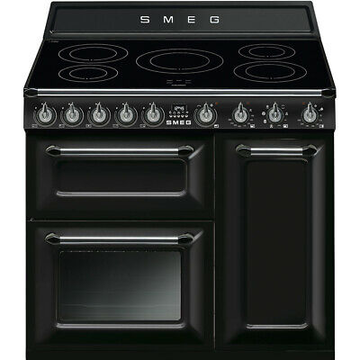 Brand New Smeg TR93IBL 90cm Black Induction Range Cooker (SMEG-03) RRP £2299