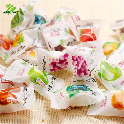 1500g Multi Tastes Stuffed Soft Candy, Crispy Fresh Milk Balls Candy