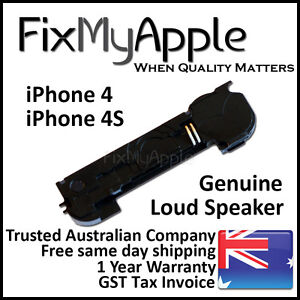 iPhone 4 4S OEM Original Loud Speaker Buzzer Ringer Enclosure Replacement Repair