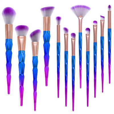 12Pcs Pro Makeup Cosmetic Brushes Set Powder Foundation Eyeshadow Lip Eye Brush