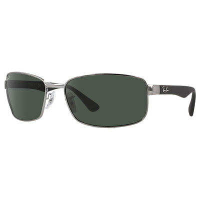 Ray-Ban RB3478 Polarized Sunglasses Gunmetal/ Green Classic 60mm