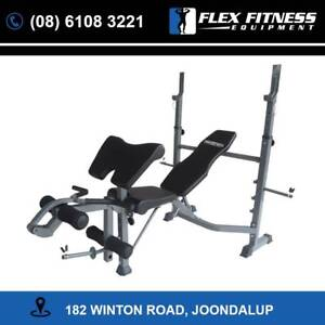 Bench Press | Includes Leg Extension /Preacher and Wide Bench
