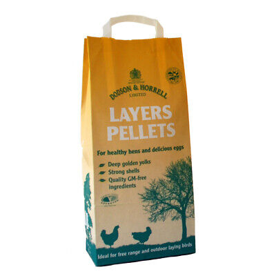 Dodson & Horrell Layers Pellets 5kg suitable for laying ducks and bantams